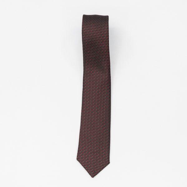 Cravata neagra cu picatele