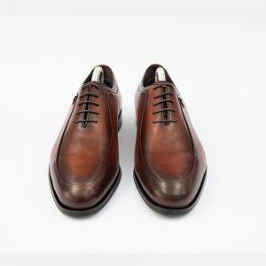 Pantofi maro din piele eleganti 4 men ceremony