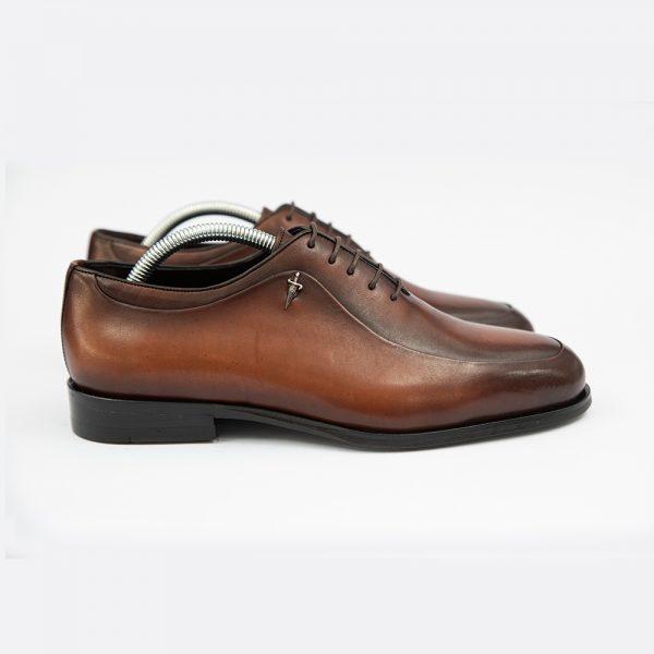 Pantofi maro din piele eleganti 4 men