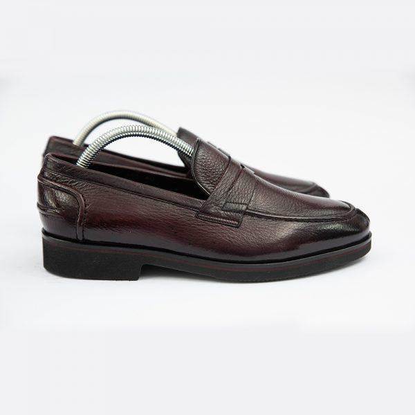 Pantofi maro fara sireturi 4 men ceremony Piatra Neamt