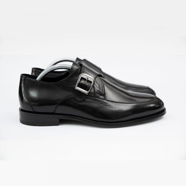 Pantofi pentru barbati negrii luciosi 4 men ceremony