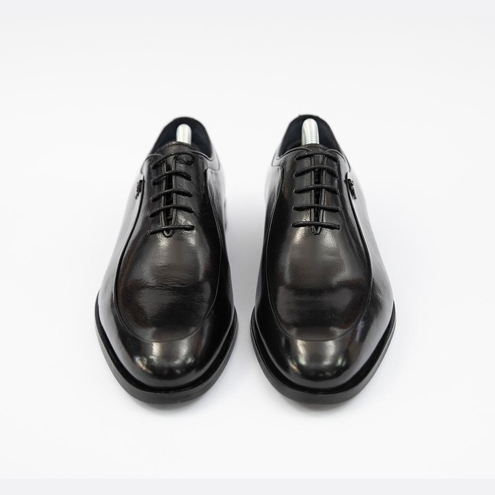 Pantofi negrii din piele Piatra Neamt