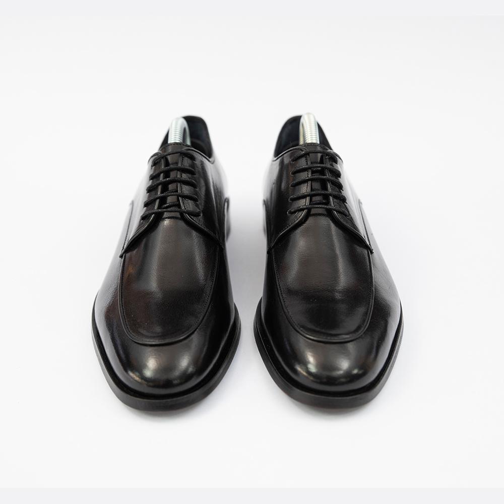 Pantofi negrii din piele