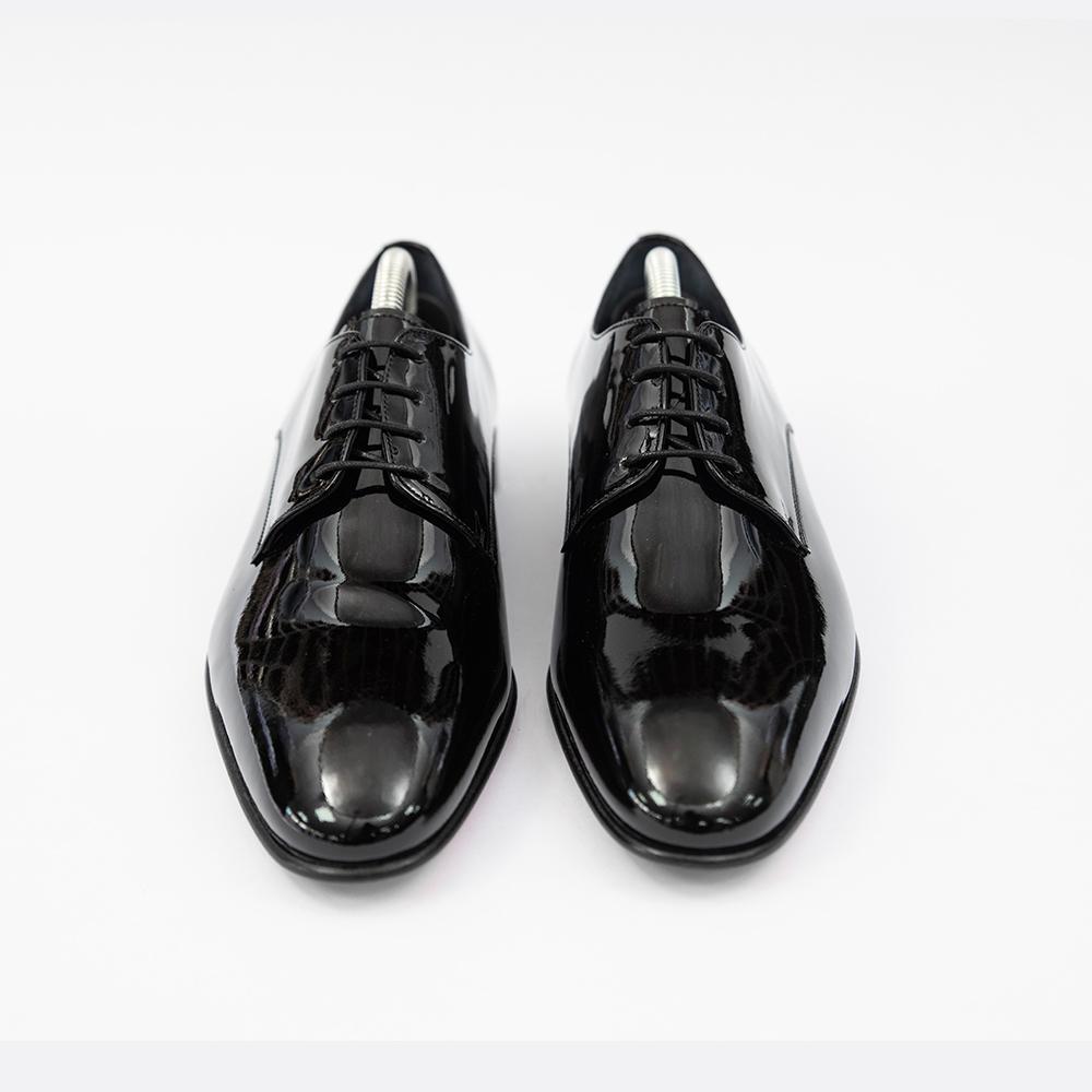 Pantofi negrii luciosi Piatra Neamt