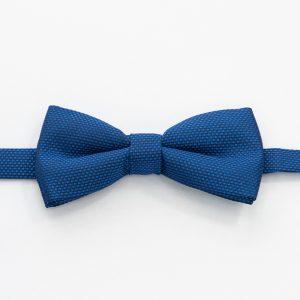 Papion simplu albastru elegant 4 men ceremony